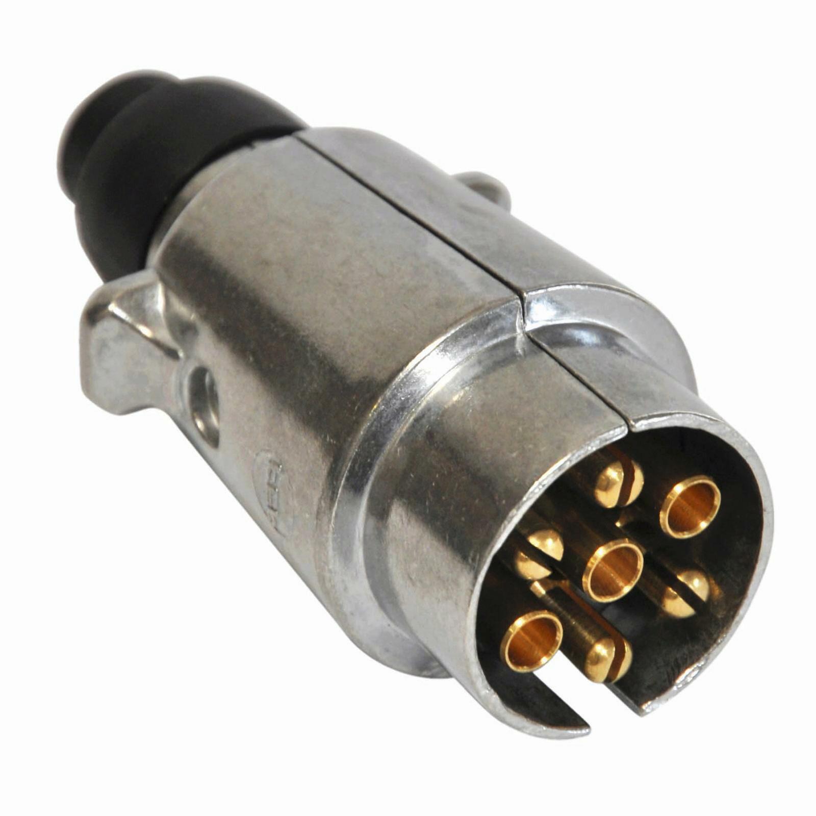 Stecker 12 Volt 7-polig Metall