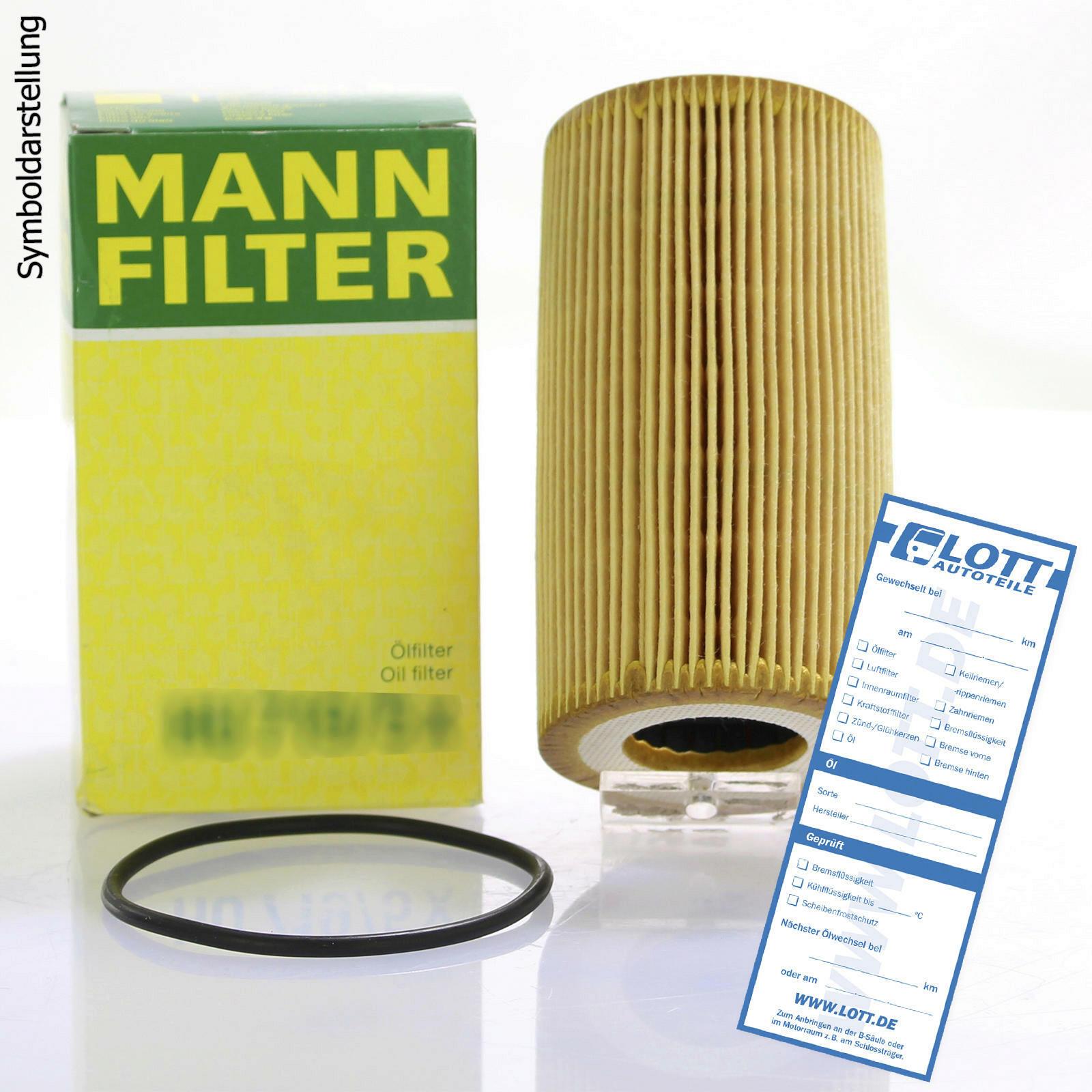 MANN-FILTER Oil Filter