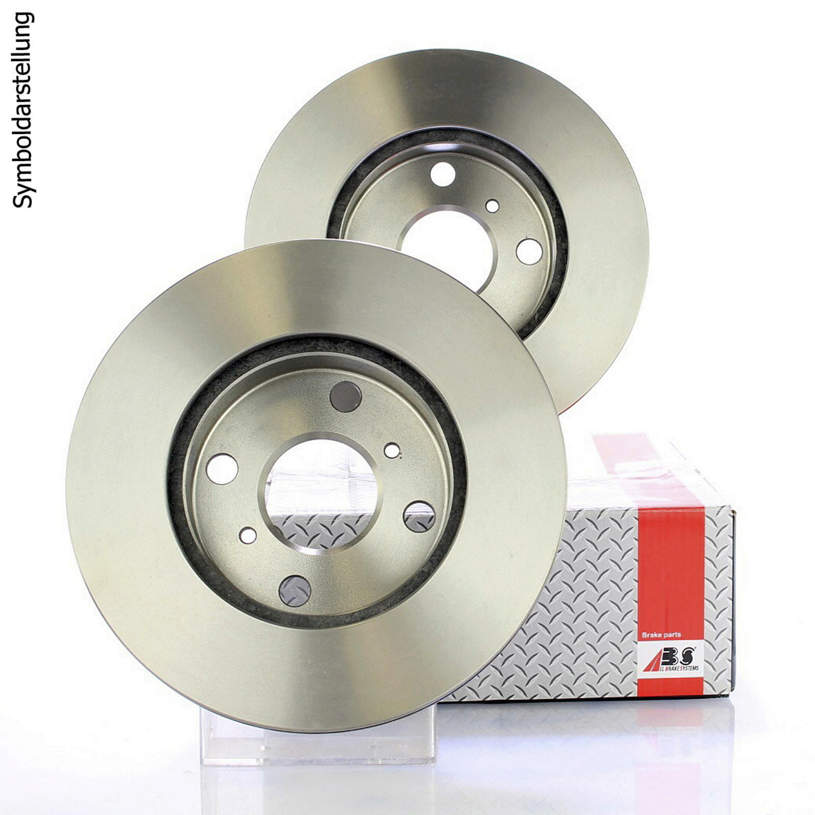 2x A.B.S. Brake Disc COATED