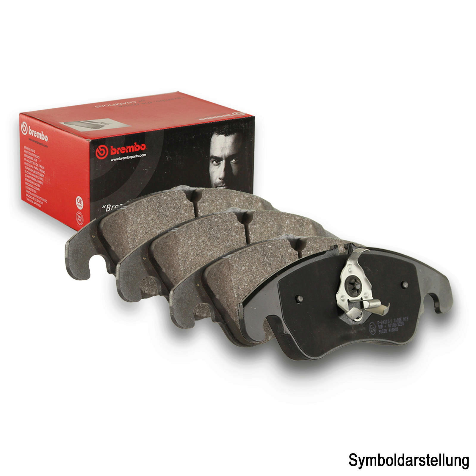 BREMBO Brake Pad Set, disc brake