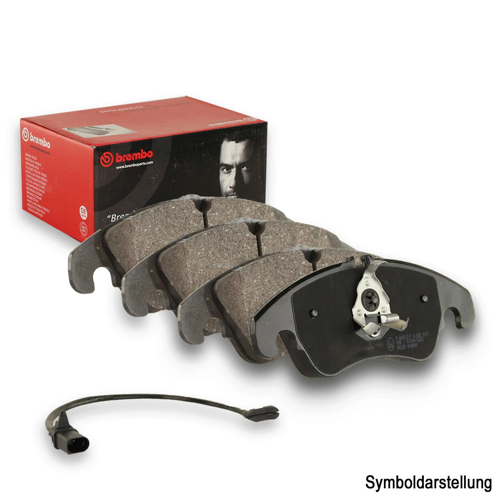BREMBO Brake Pad Set, disc brake