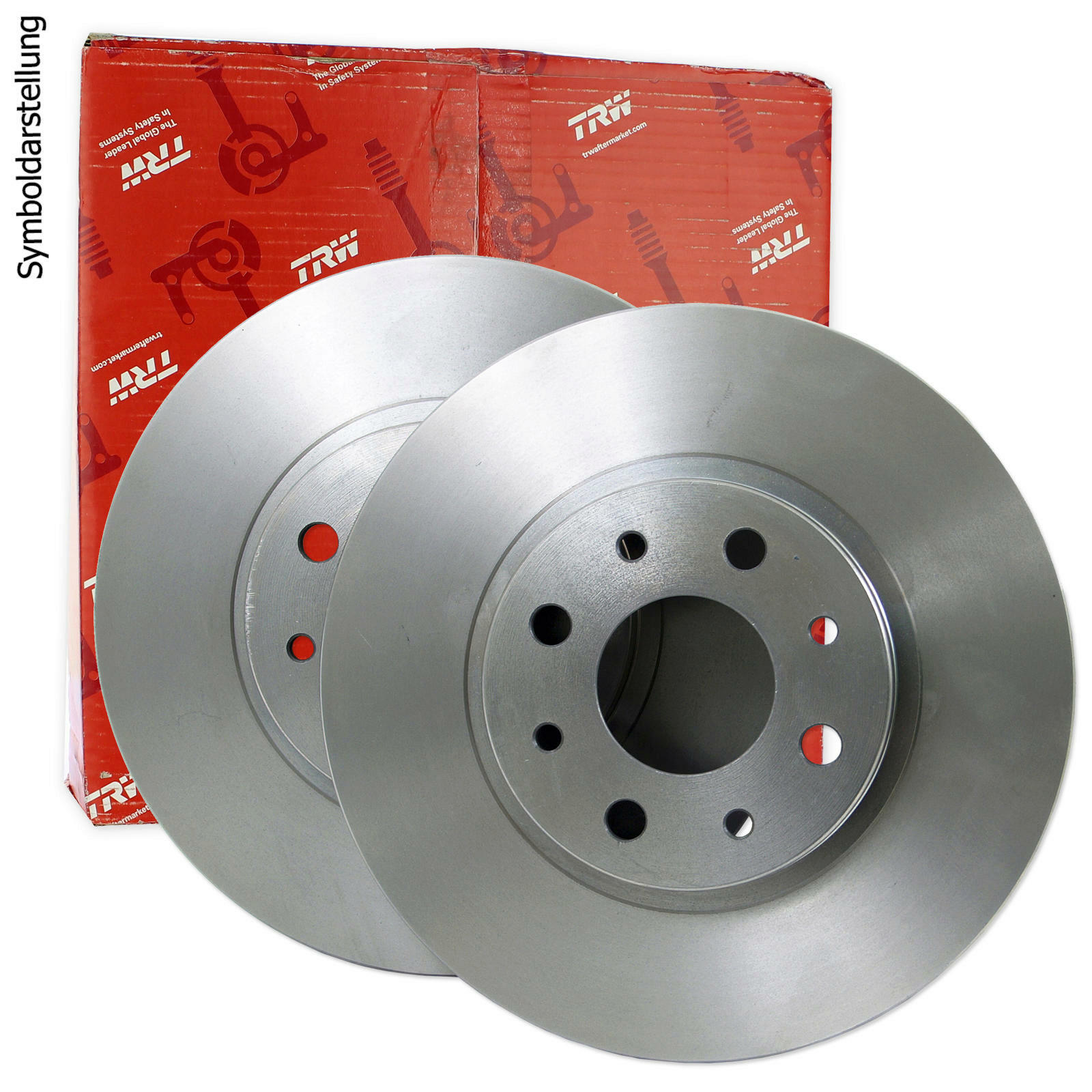 2x TRW Brake Disc