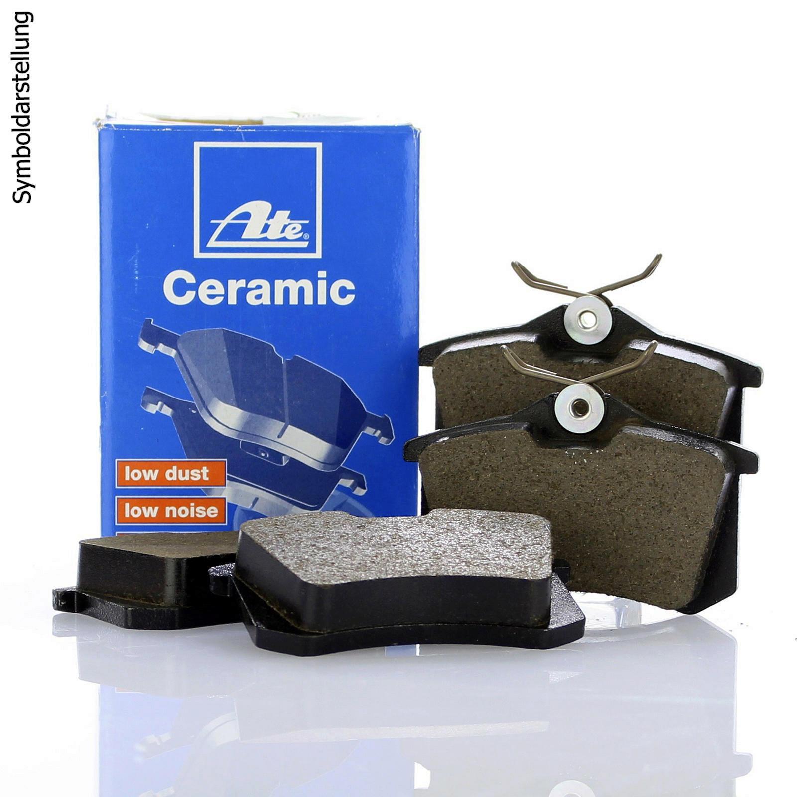 ATE CERAMIC BREMSBELÄGE HINTEN VOLVO S60 S80 XC70 2 V60 V70 3 XC60 D5+T3+2.0