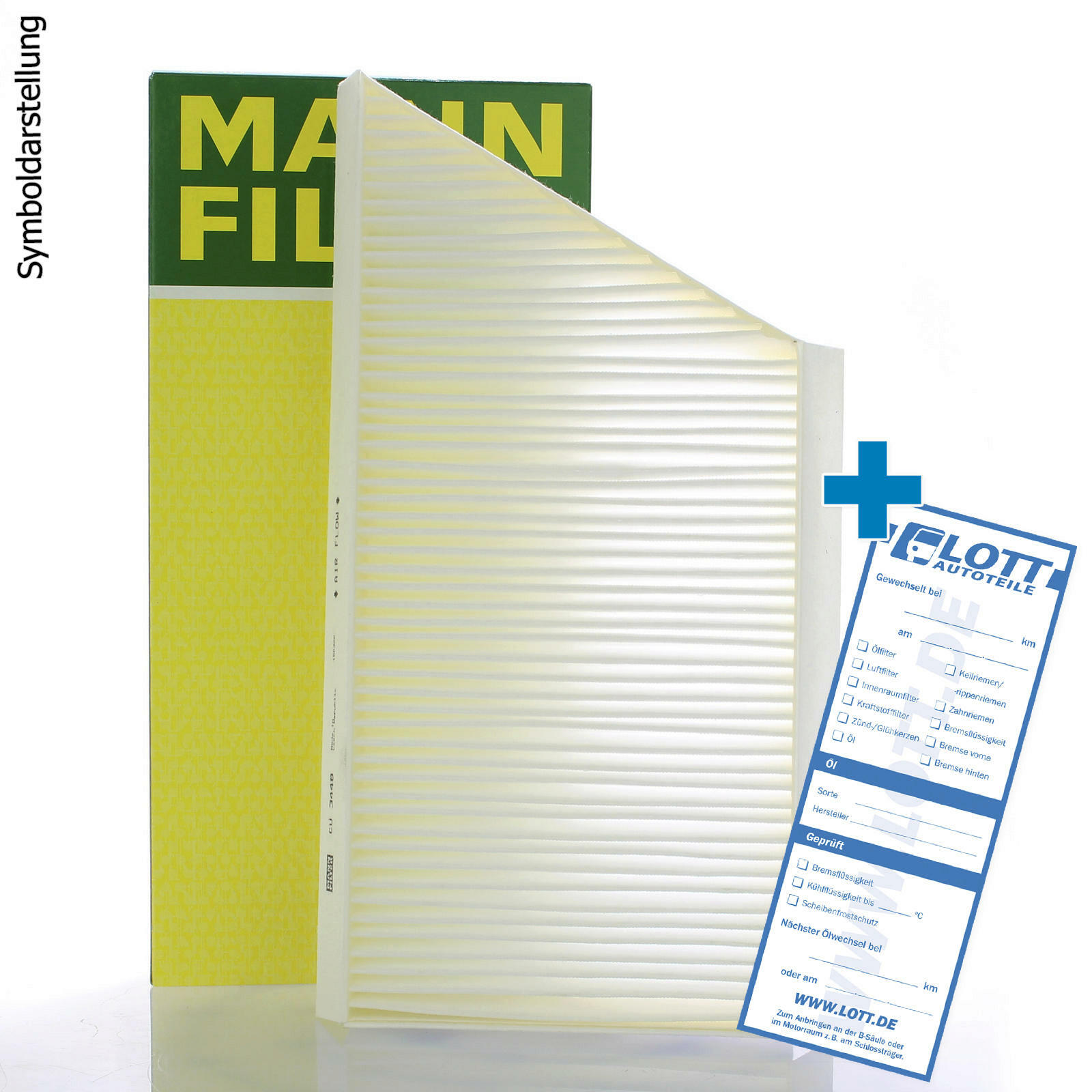 MANN-FILTER Filter, Innenraumluft
