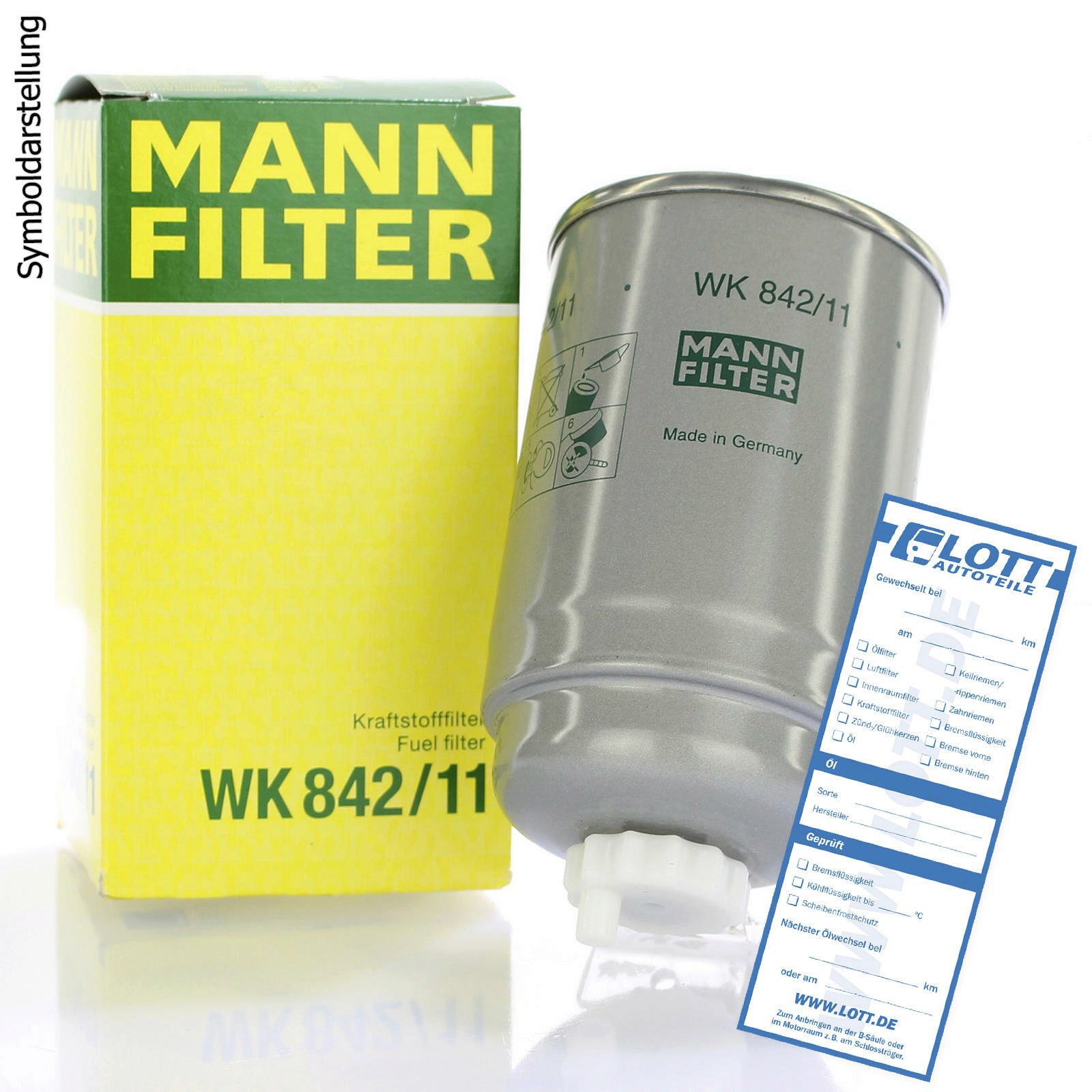MANN-FILTER Kraftstofffilter