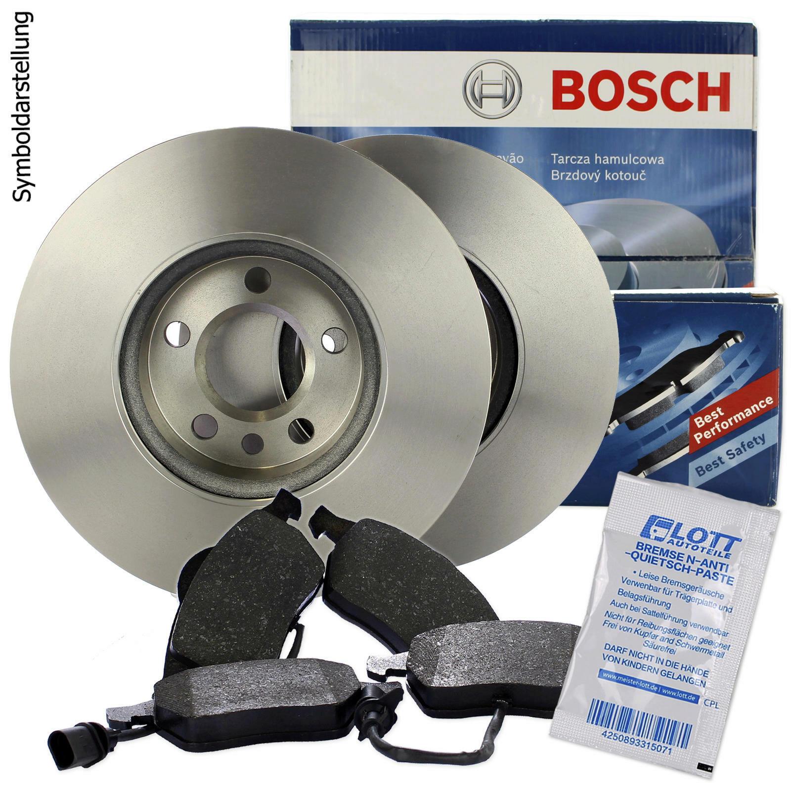 BOSCH Bremsscheiben + Bosch Bremsbeläge