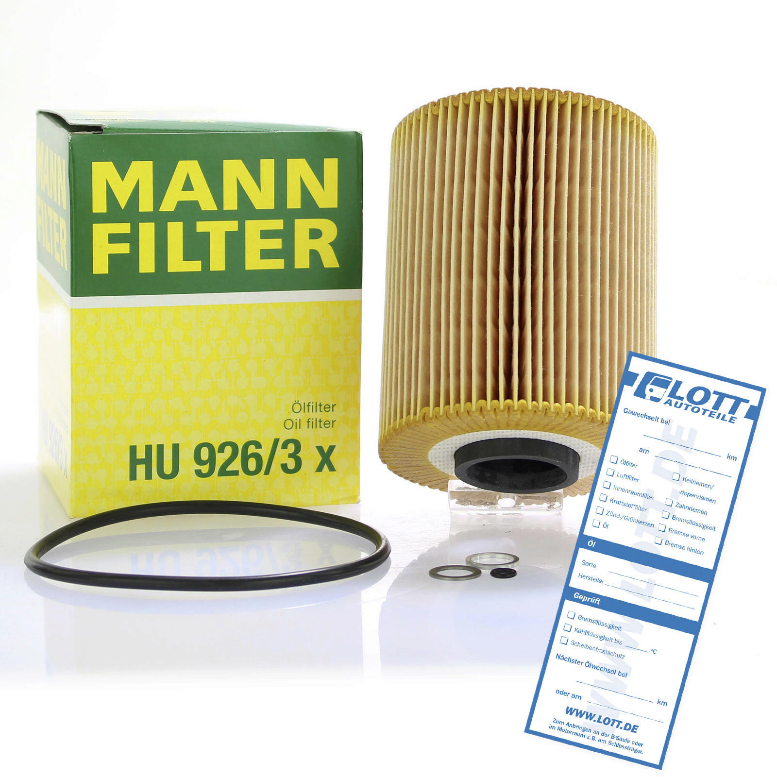 MANN-FILTER Ölfilter evotop