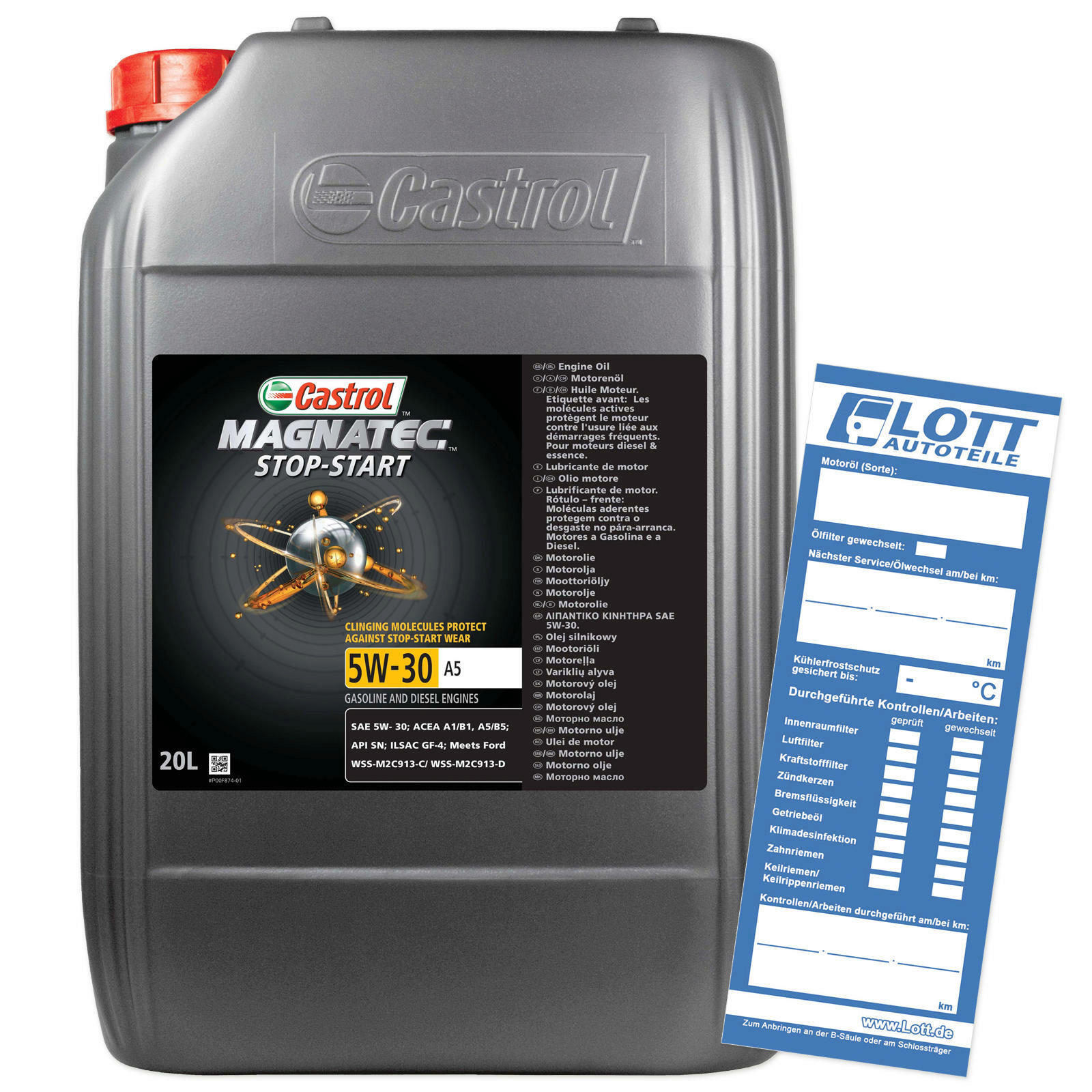 CASTROL Motoröl MAGNATEC STOP-START 5W-30 A5
