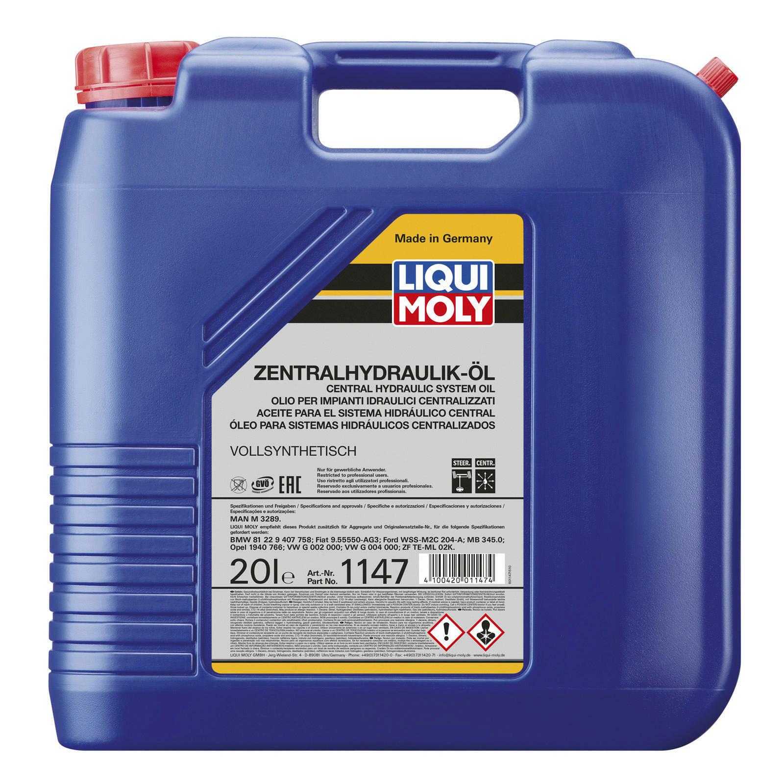 Liqui Moly Zentralhydrauliköl 20L