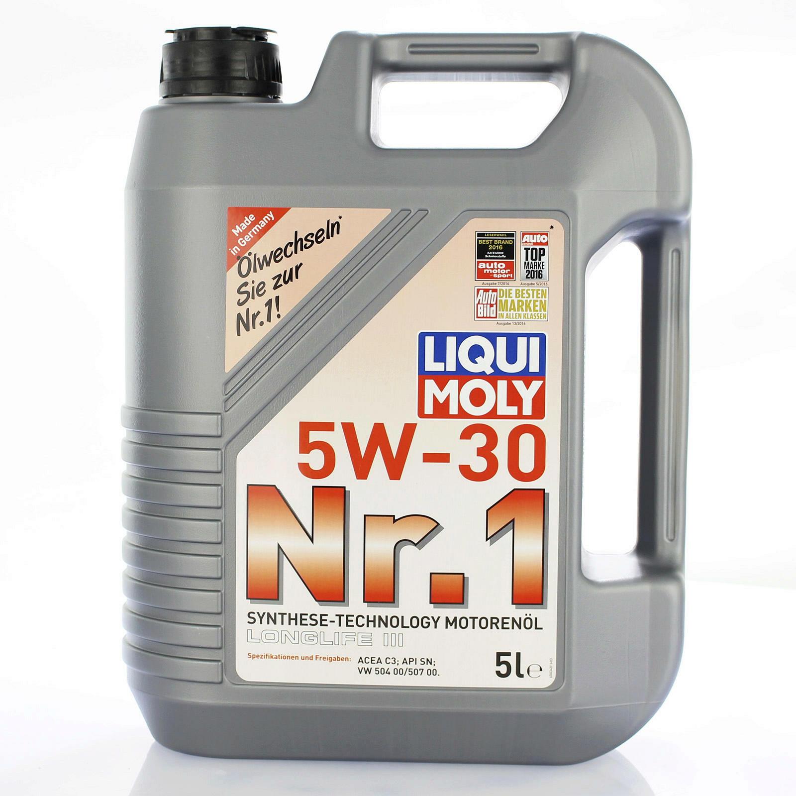 Liqui Moly Nr.1 Motorenöl 5W-30 5 Liter (507.00)