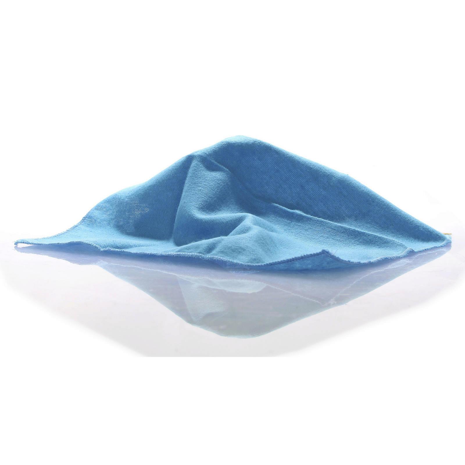 Poliertuch hell blau 28cm x 28cm