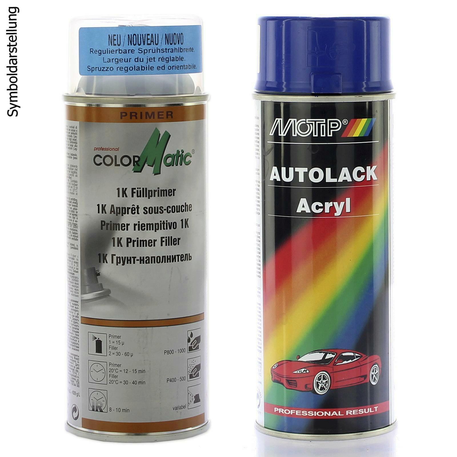 Motip Lackset Fullprimer HG3 + Fahrzeug-Kombinationslack