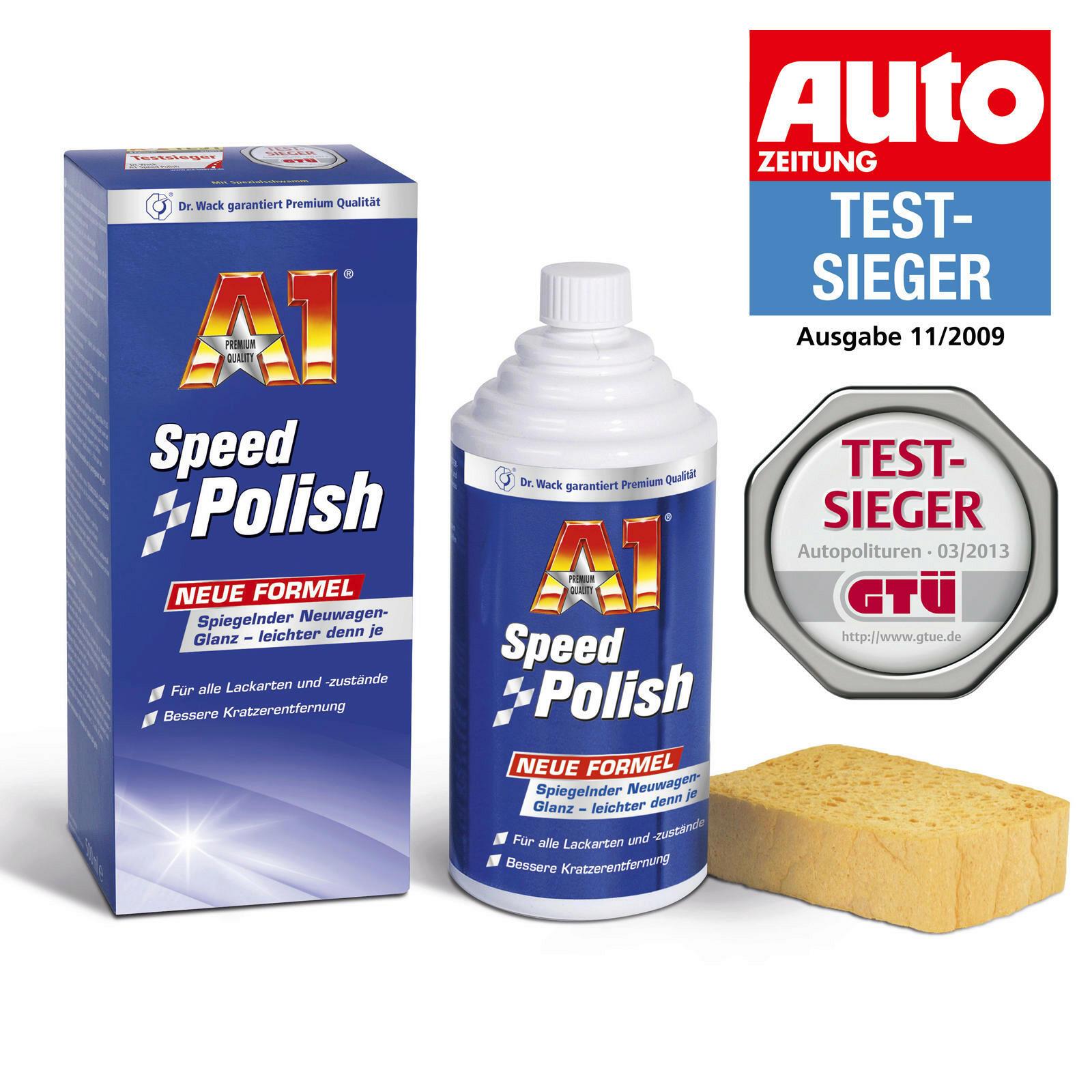 Dr.Wack A1 Speed Polish 500ml + Mannol Microfasertuch