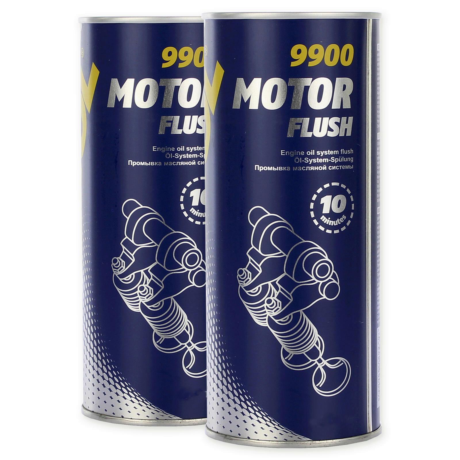 2x 350ml Mannol Motorspülung