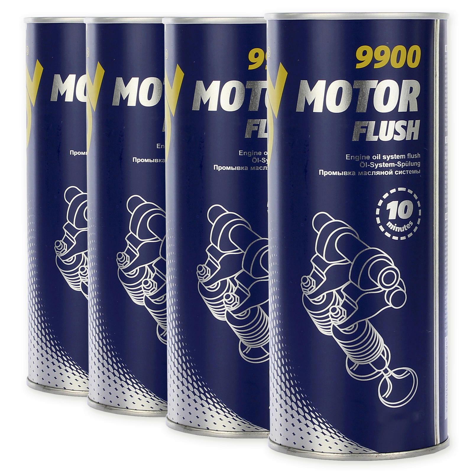 4x 350ml Mannol Motorspülung
