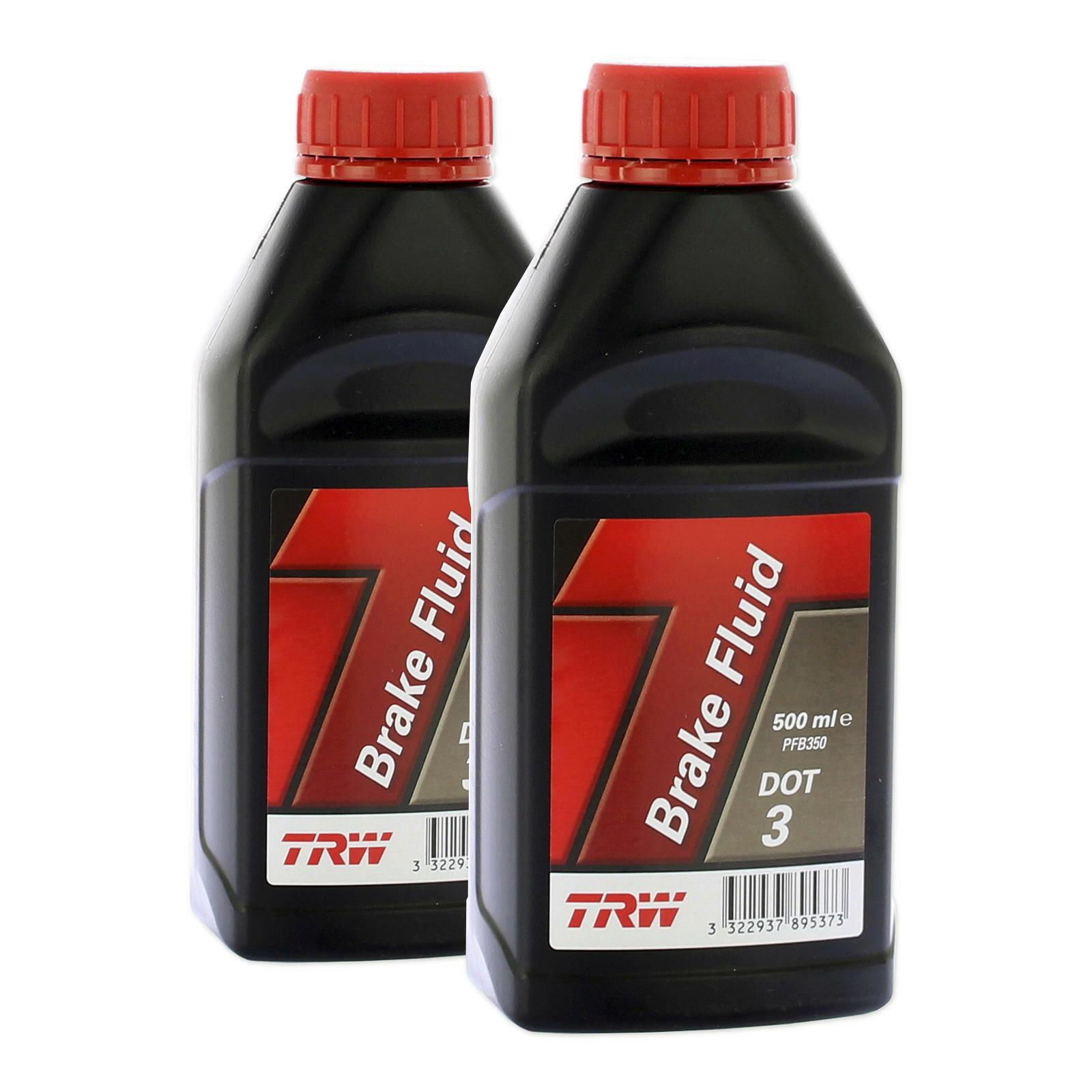 2x TRW Bremsflüssigkeit DOT 3 500ml