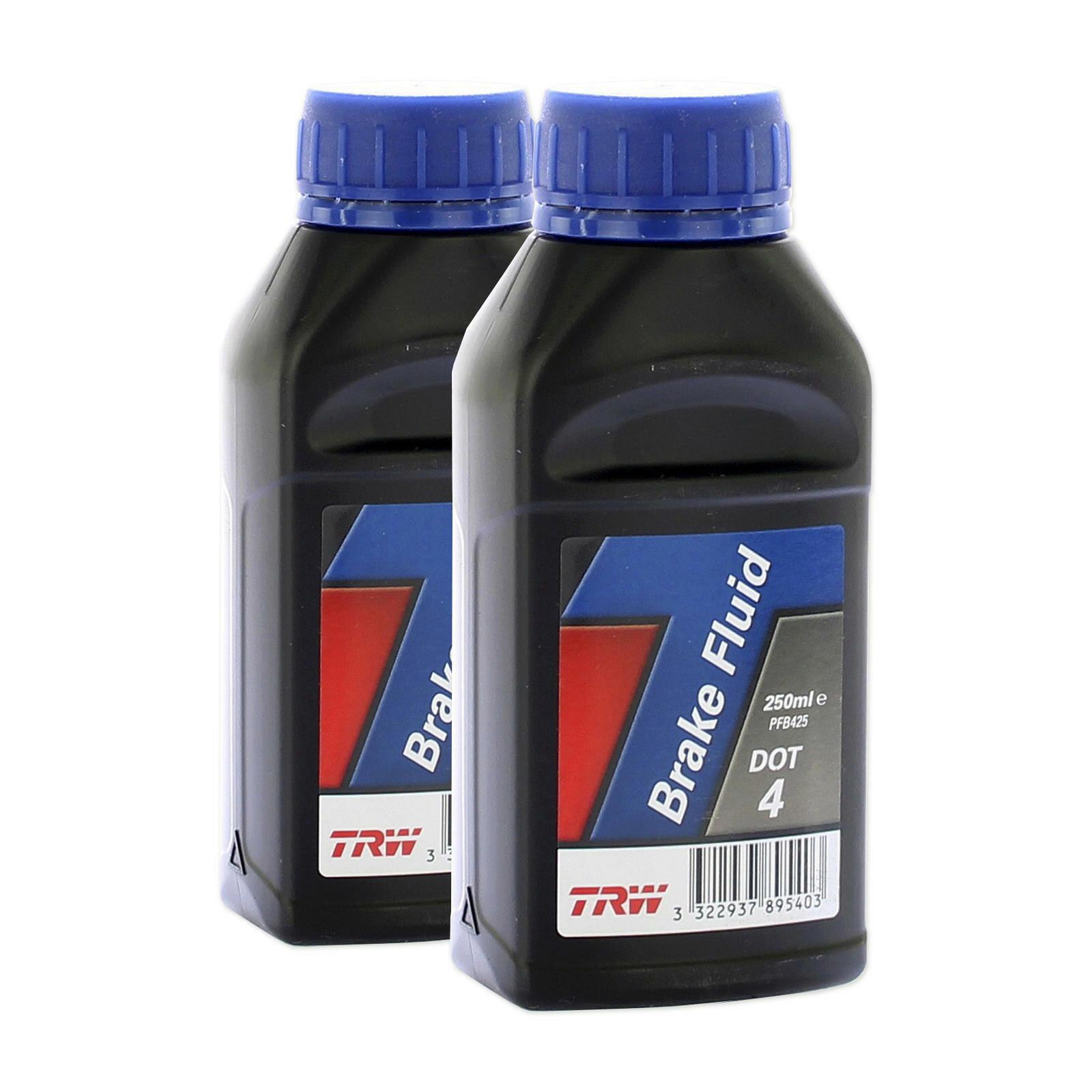 2x TRW Bremsflüssigkeit DOT 4 250ml