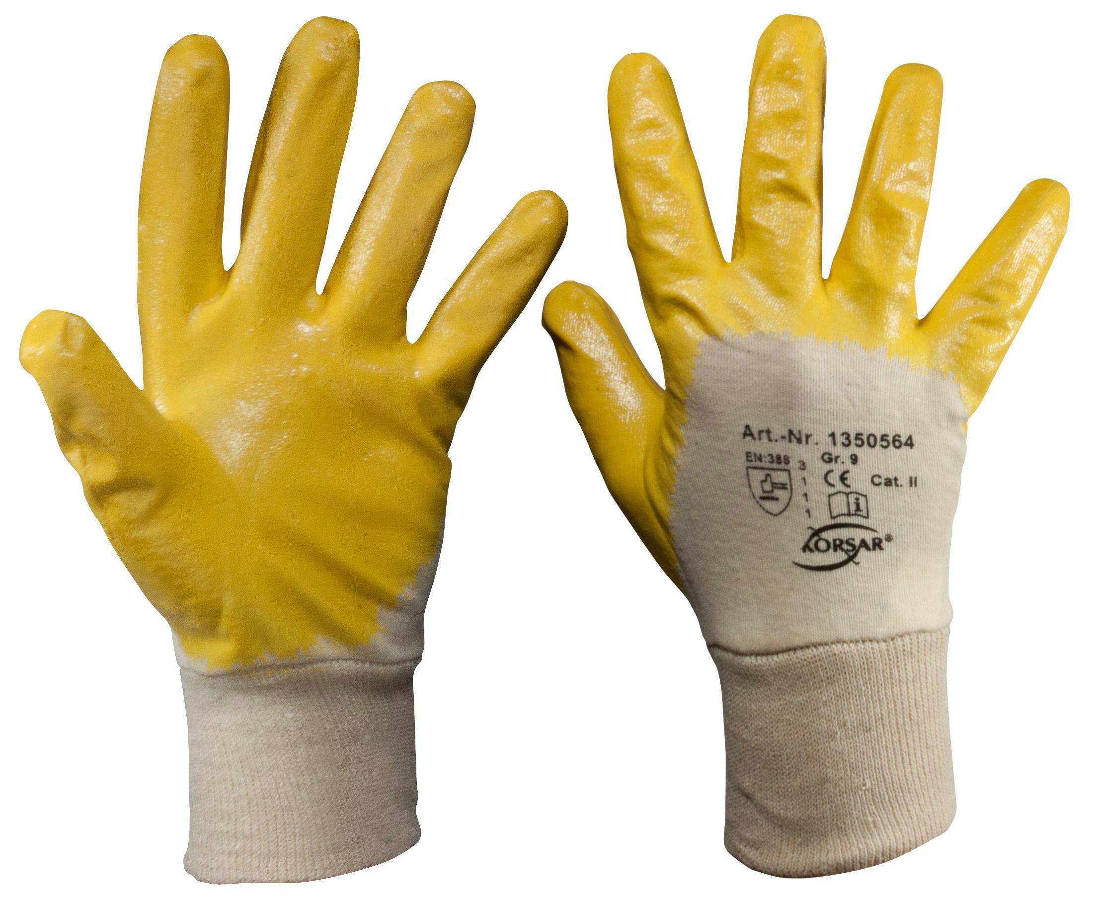 Z630 Nitrilhandschuhe L Größe 9 (10 Paar)