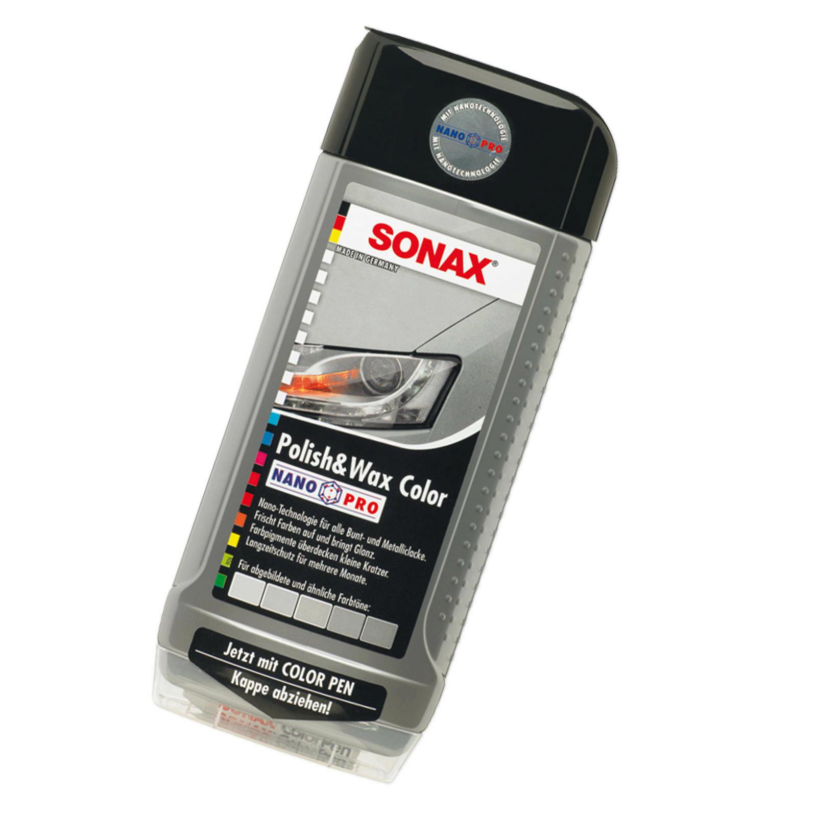 SONAX Polish & Wax Color NanoPro silber/grau 500ml
