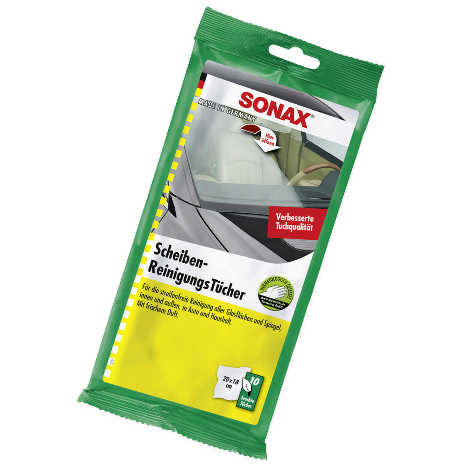 SONAX ScheibenReinigungsTücher