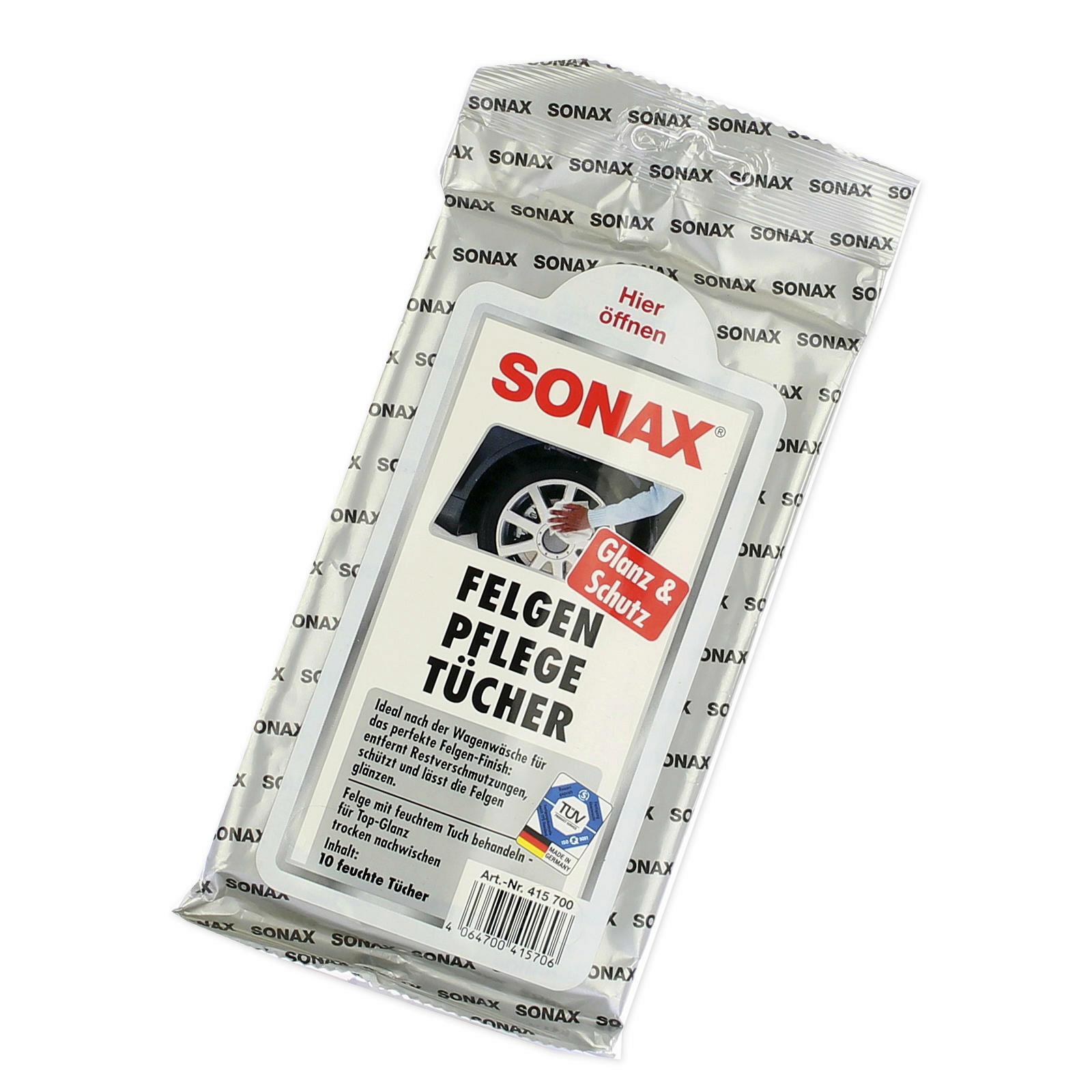 SONAX FelgenPflegeTücher