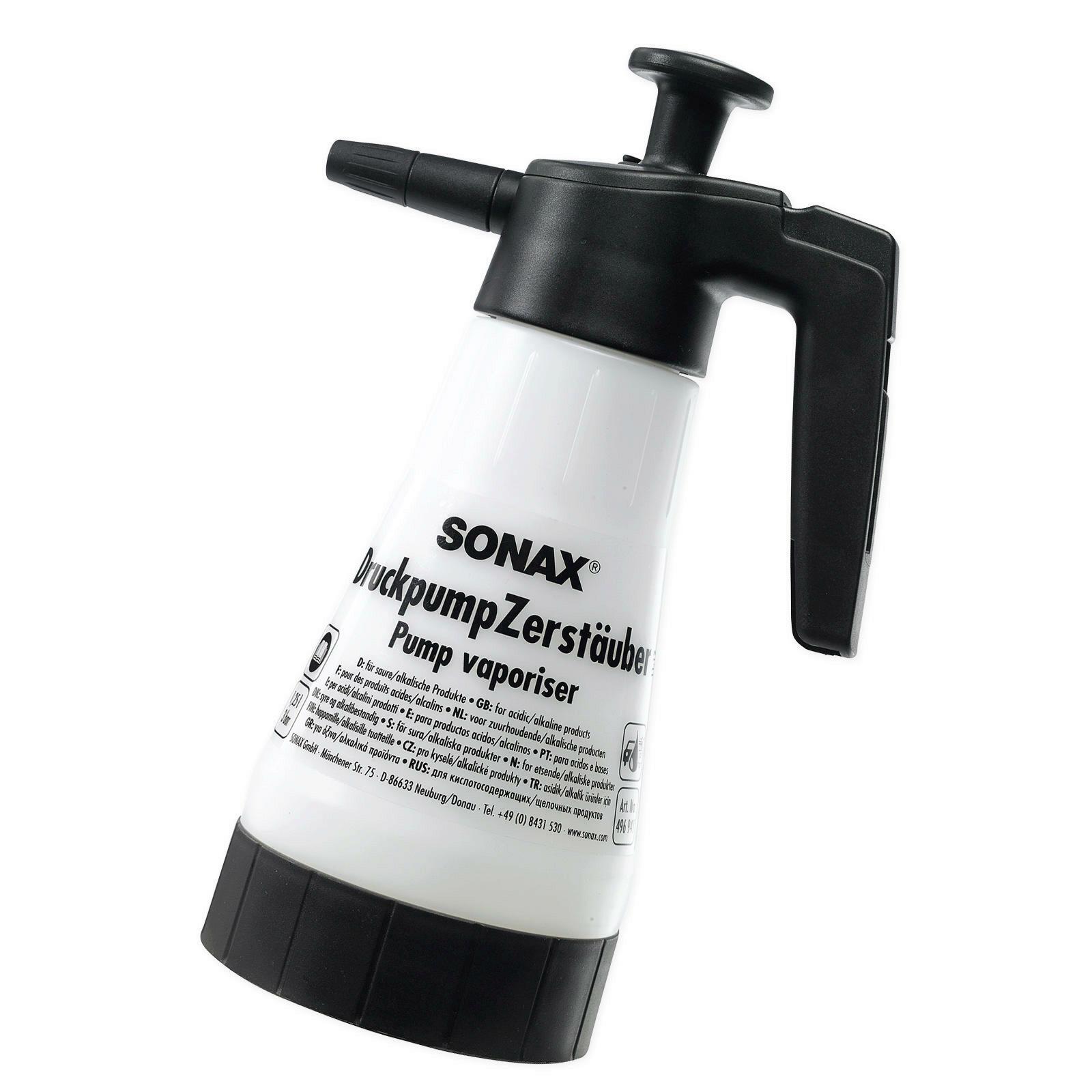SONAX DruckpumpZerstäuber für saure/alkalische Produkte