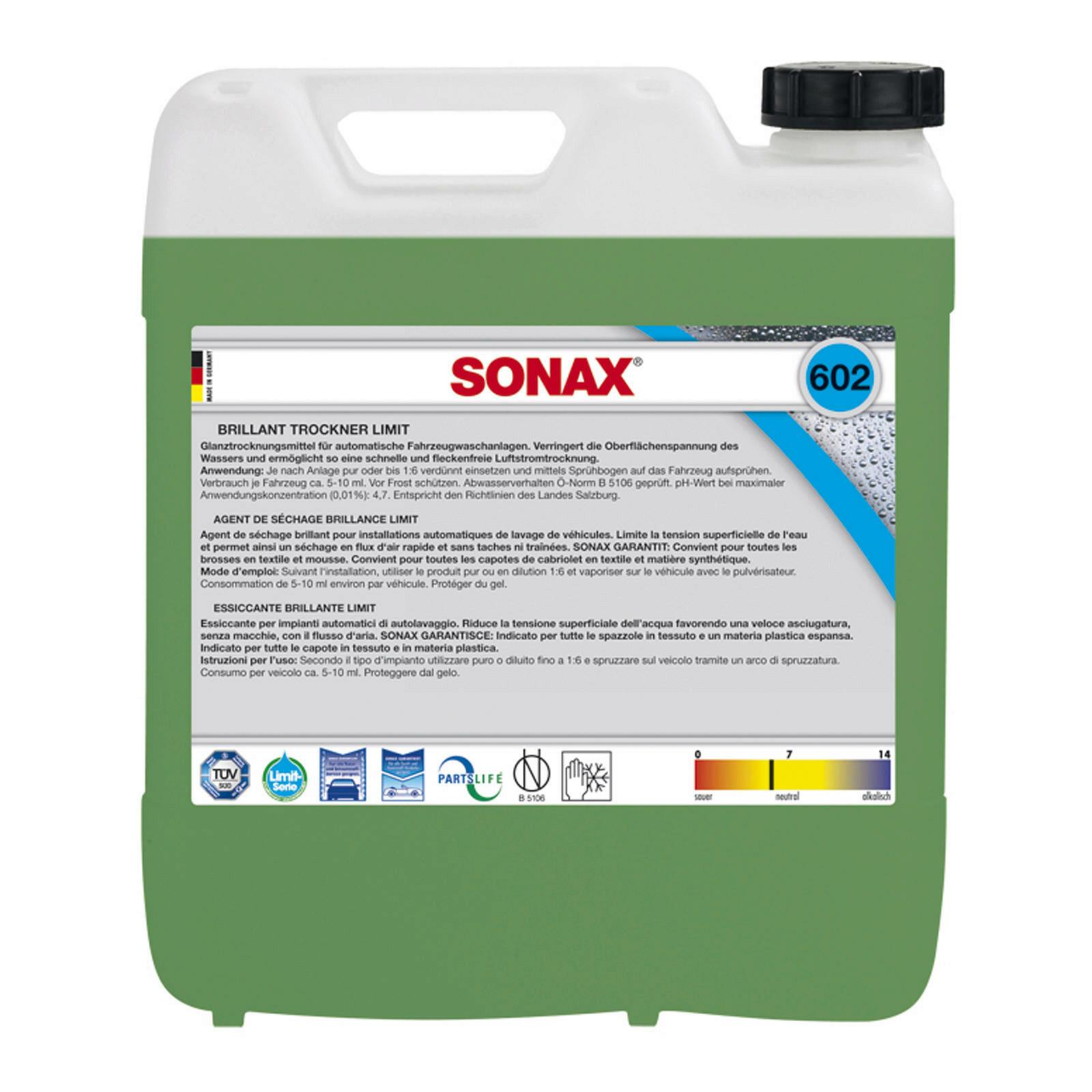 SONAX BrillantTrockner 10l