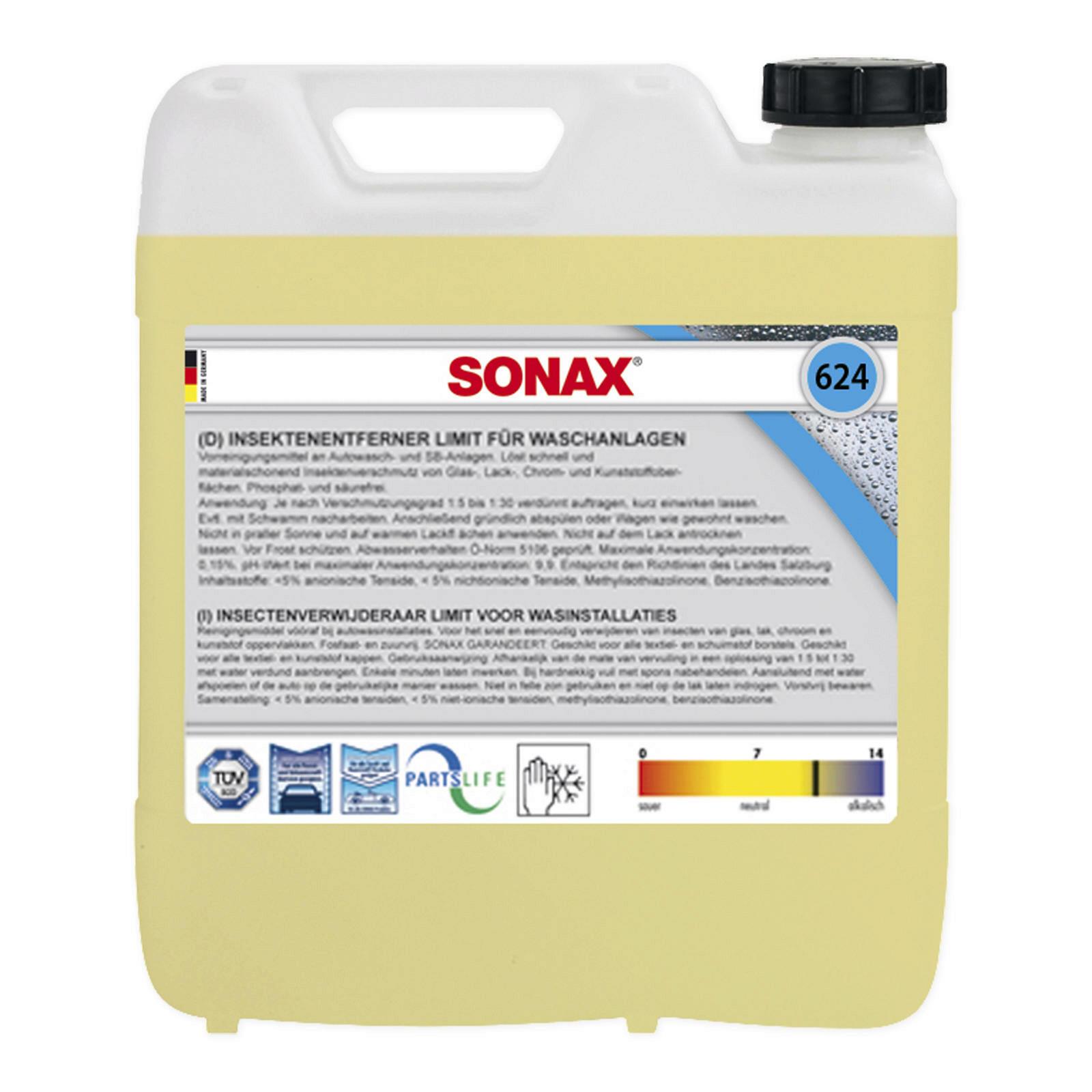 SONAX InsektenEntferner für Waschanlagen 10l