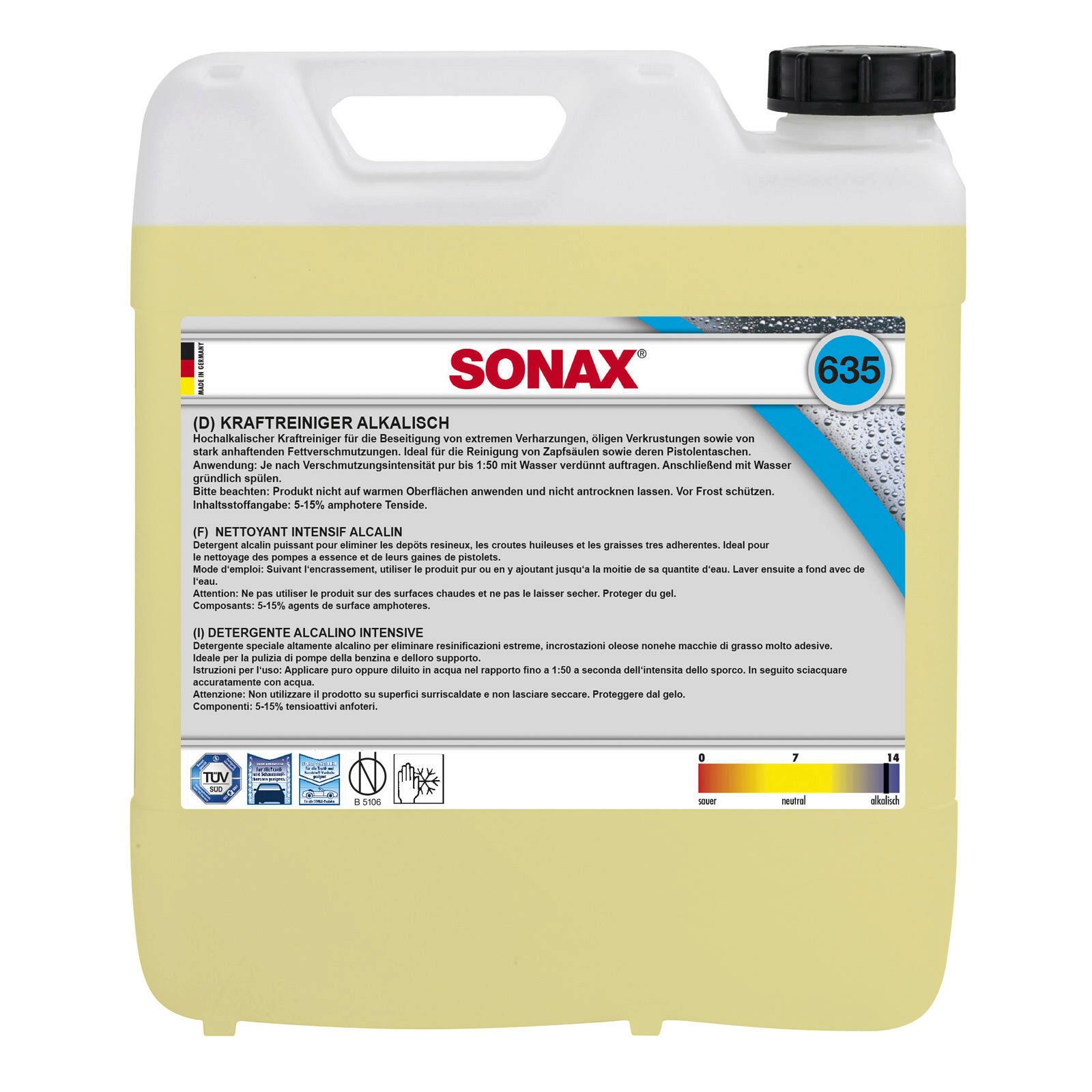 SONAX KraftReiniger alkalisch 10l