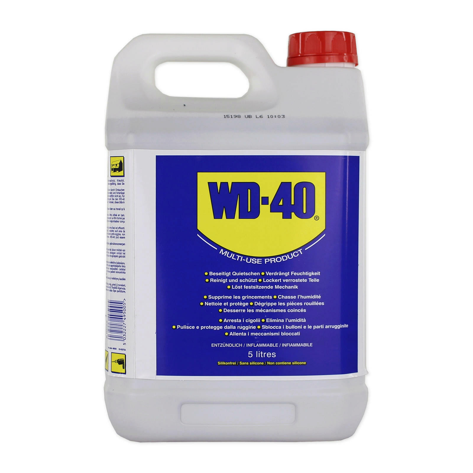 WD-40 Universalschmierstoff Kanister 5L