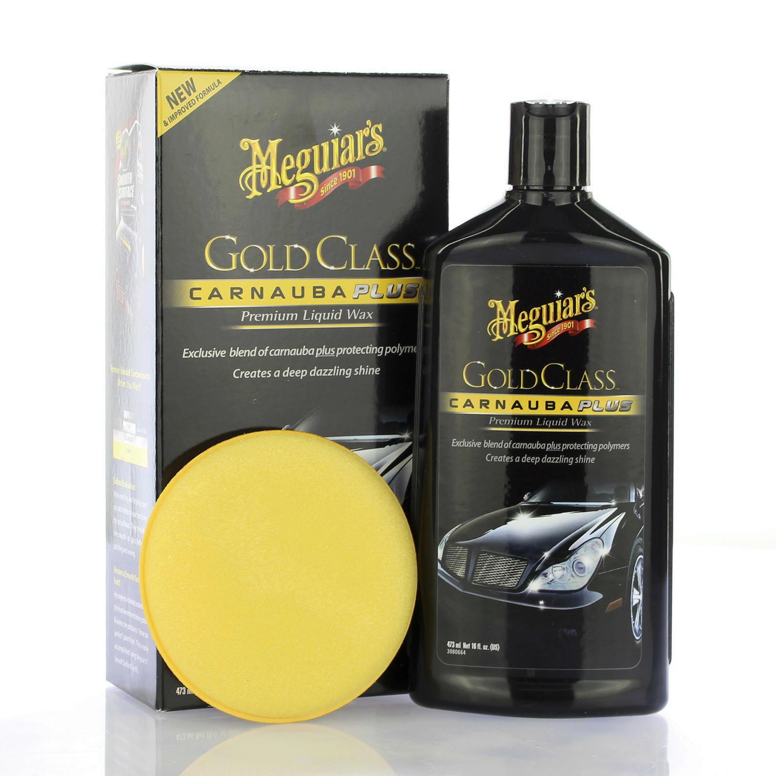 Meguiars Gold Class Carnauba Plus Premium Wax Liquid 473ml Lackpolitur