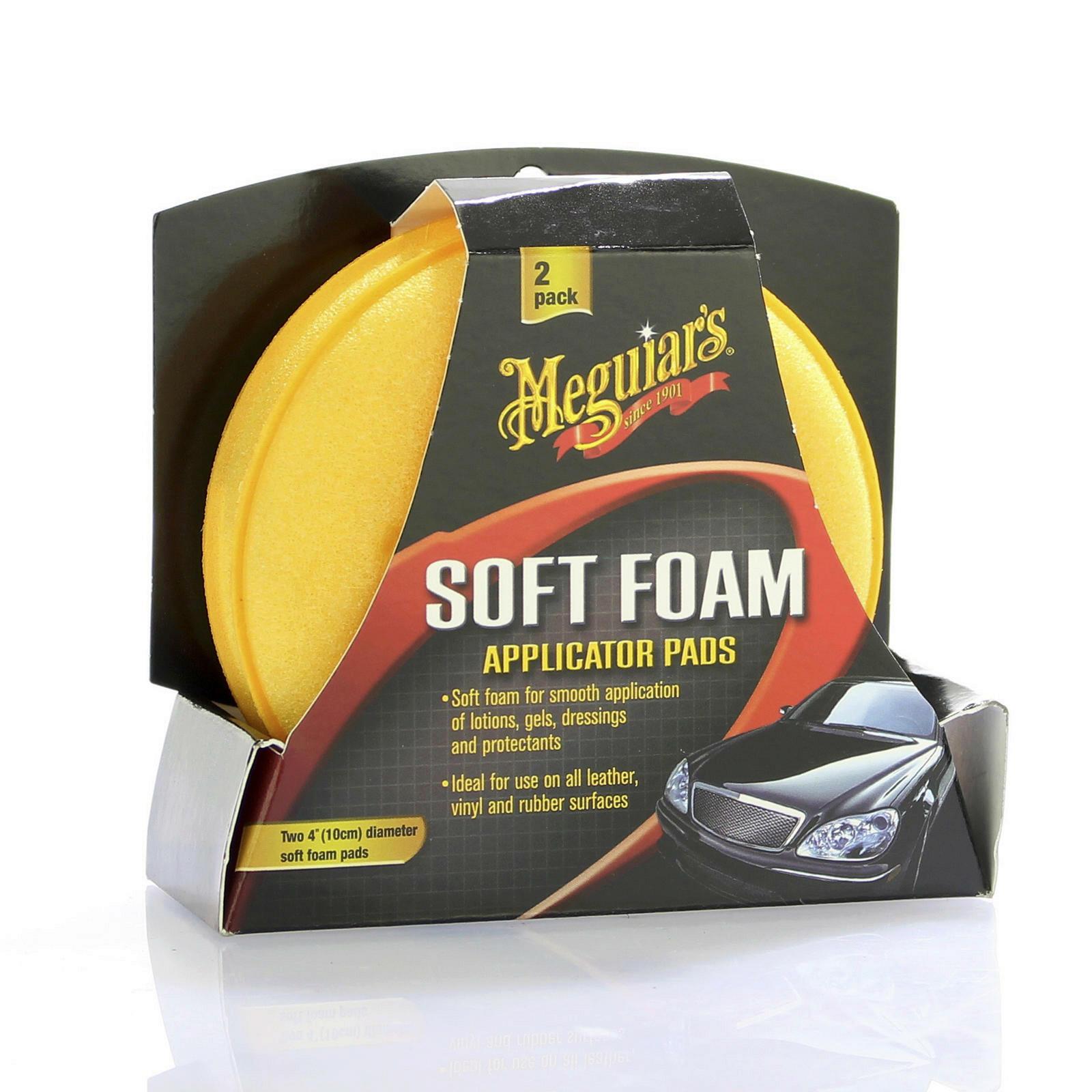 Meguiars Soft Foam Applicator 2 Pads Schwamm