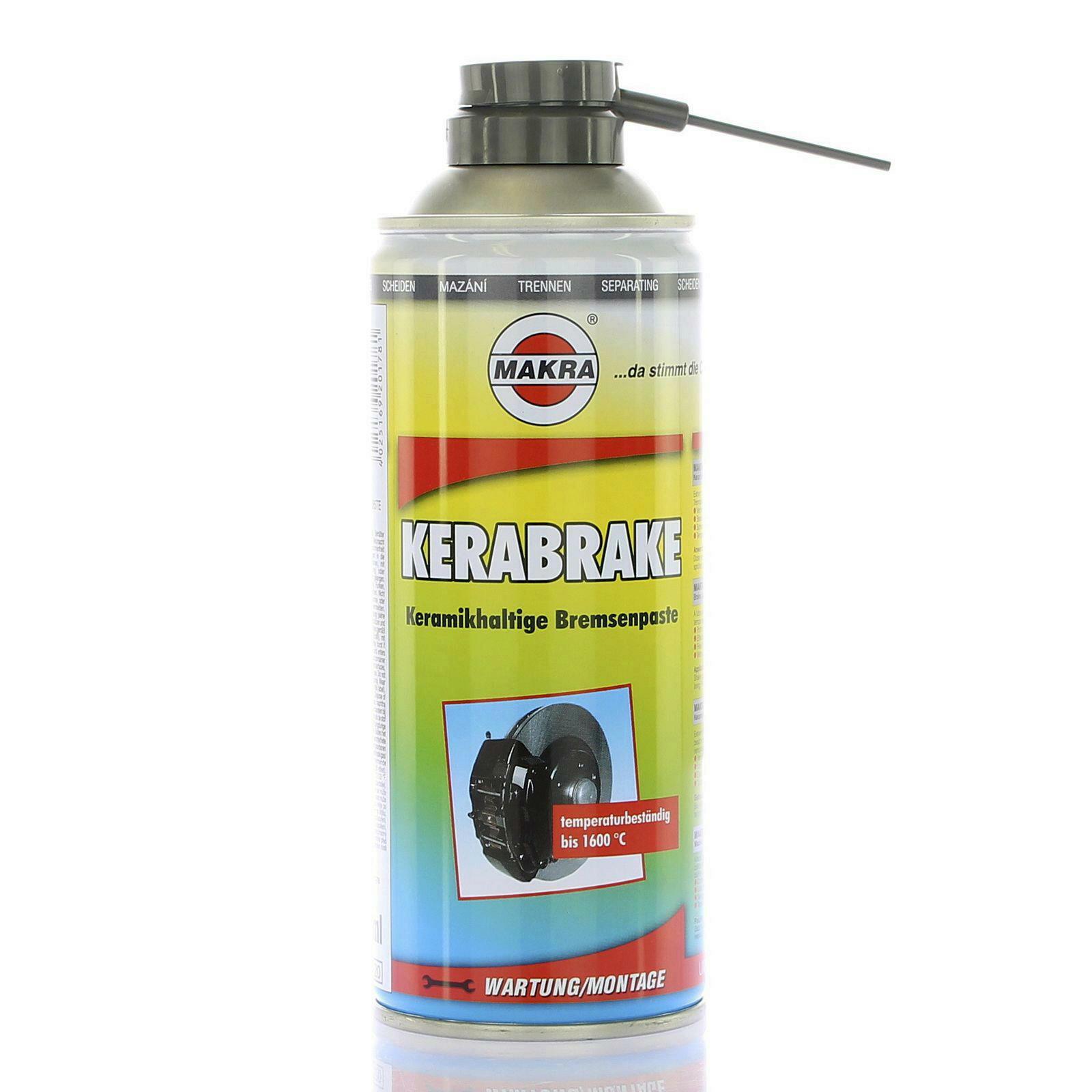 MAKRA KERABRAKE 400ml Montagespray Montagepaste Bremse