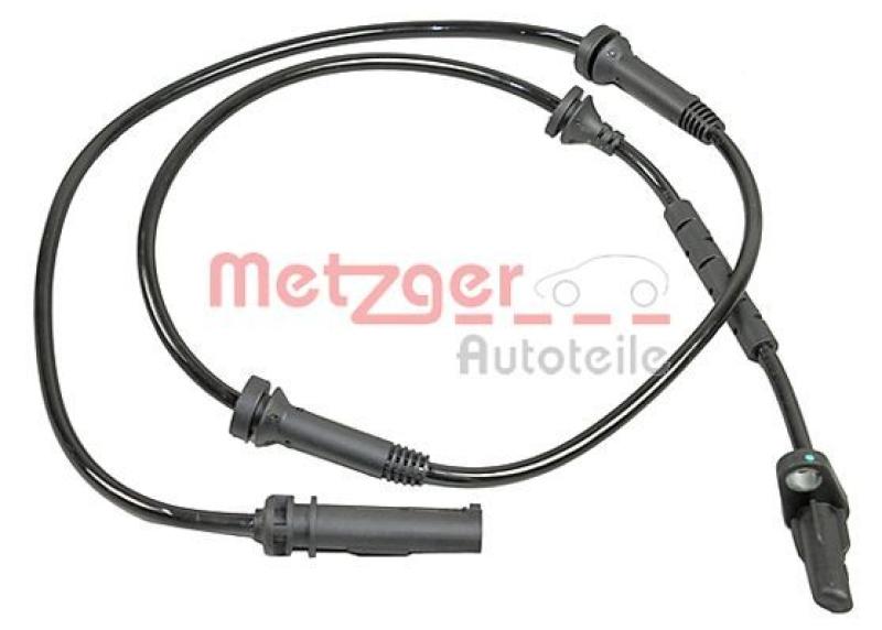 METZGER Sensor Raddrehzahl ABS Sensor Hinten 0900908