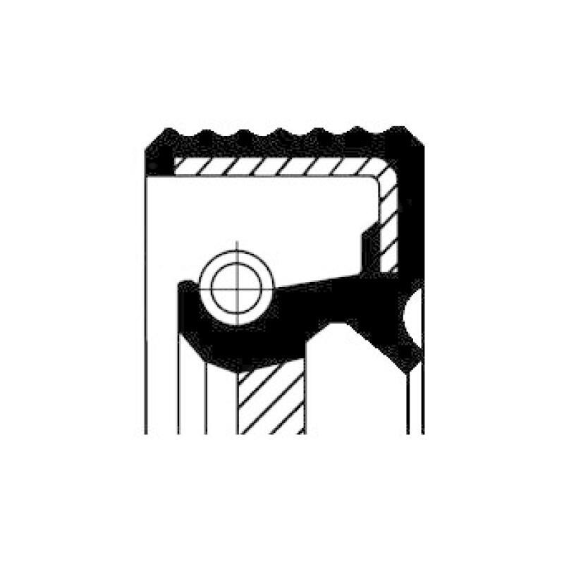 CORTECO Wellendichtring, Verteilergetriebe