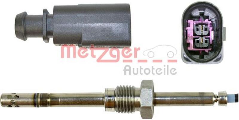 METZGER Sensor, Abgastemperatur ORIGINAL ERSATZTEIL