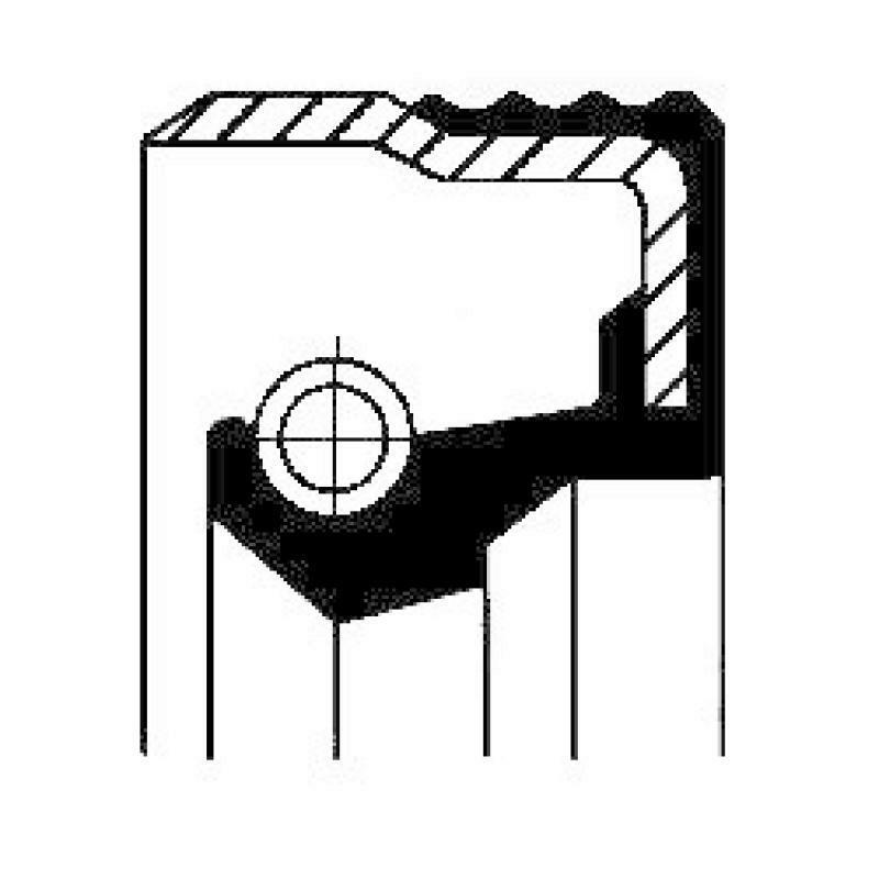CORTECO Wellendichtring, Einspritzpumpe