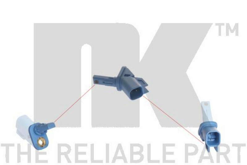 NK Sensor, Raddrehzahl