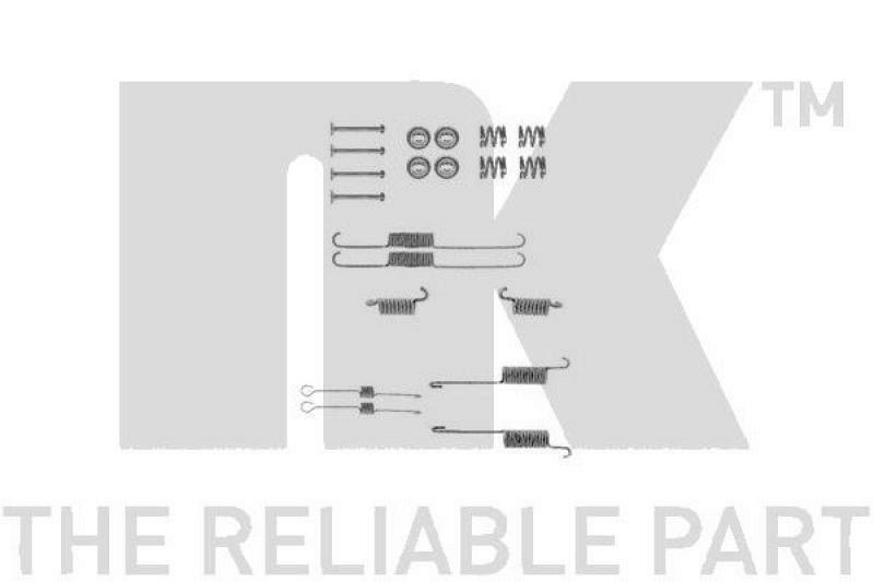 NK Zubehörsatz, Bremsbacken
