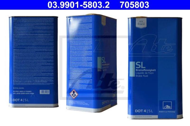 ATE Bremsflüssigkeit SL DOT4 5 Liter