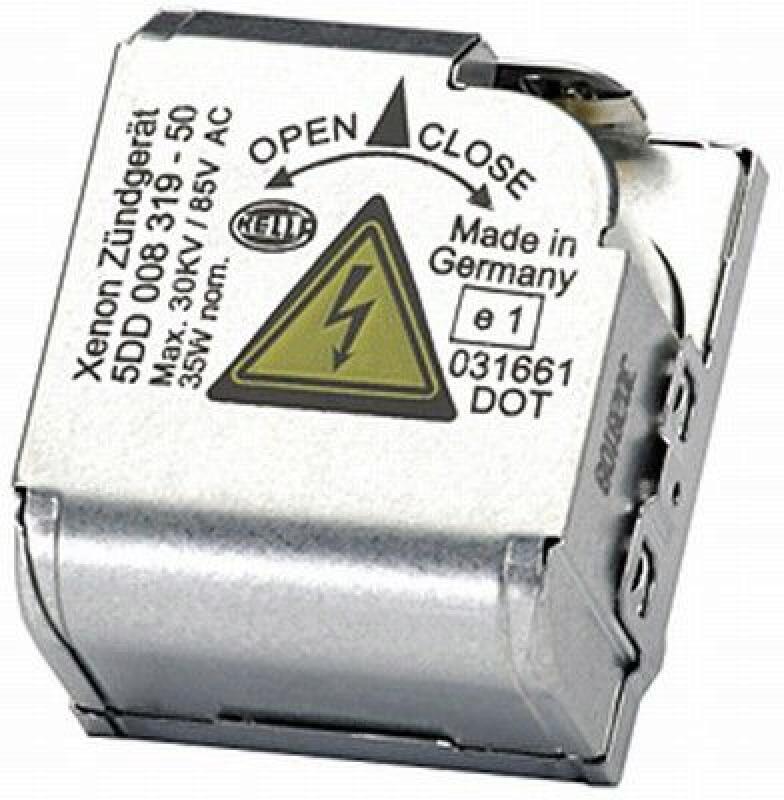 HELLA Zündgerät, Gasentladungslampe