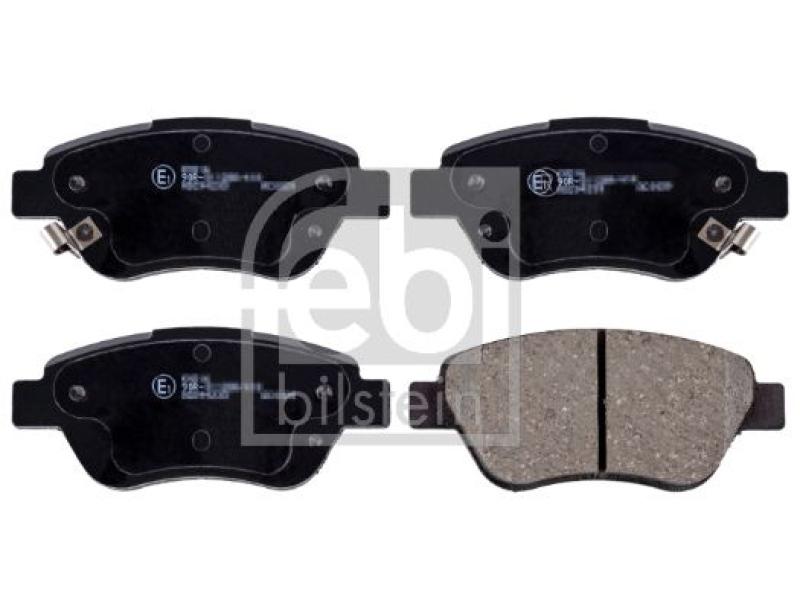 FEBI Bremsscheiben + FEBI Bremsbeläge