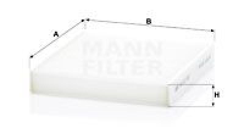 MANN-FILTER Filter, Innenraumluft