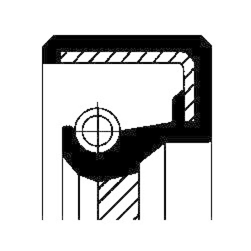 CORTECO Wellendichtring, Schaltgetriebe