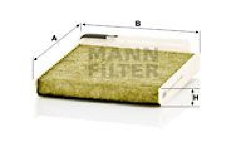 MANN-FILTER Filter, Innenraumluft Frecious Plus