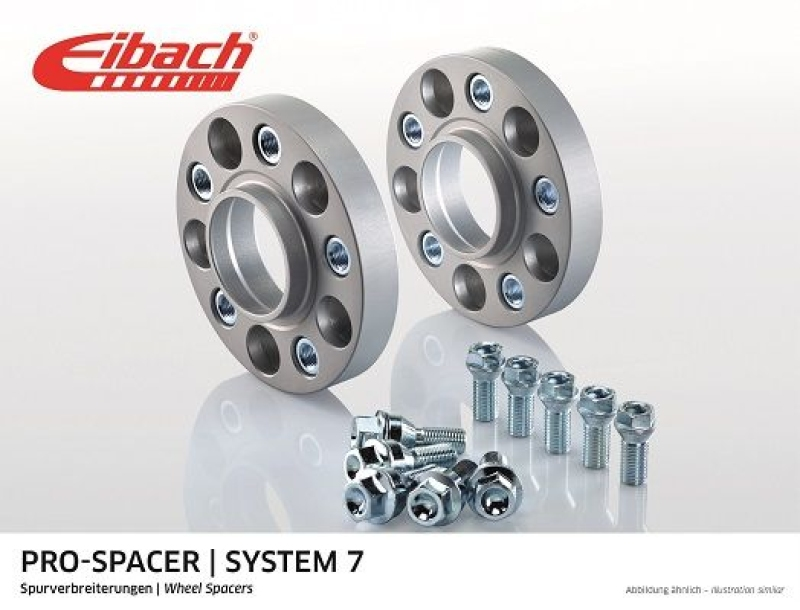 EIBACH Spurplatten Spurverbreiterung Distanzscheibe Ø57 5x112 40mm // 2x20mm