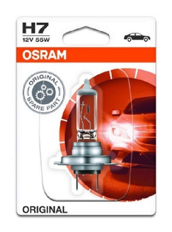 OSRAM H7 Glühlampe Hauptscheinwerfer