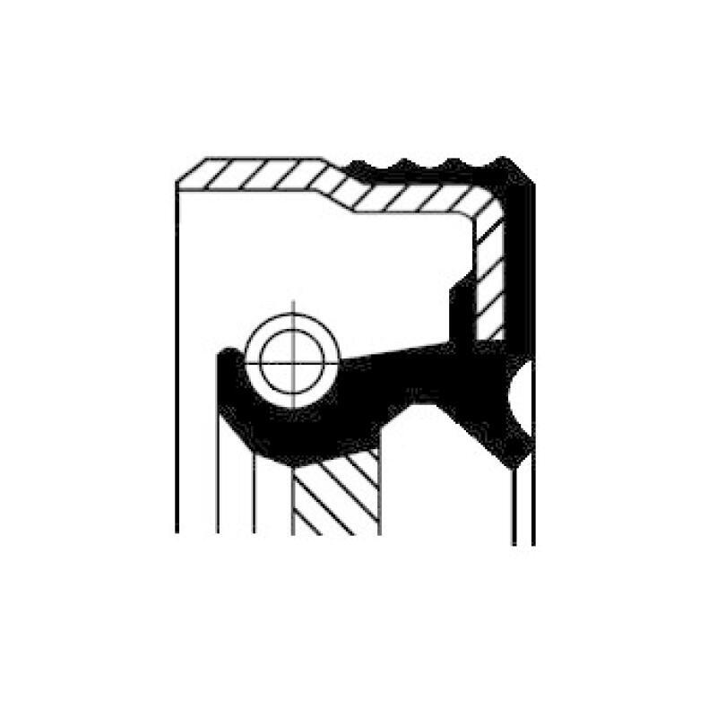 CORTECO Wellendichtring, Differential