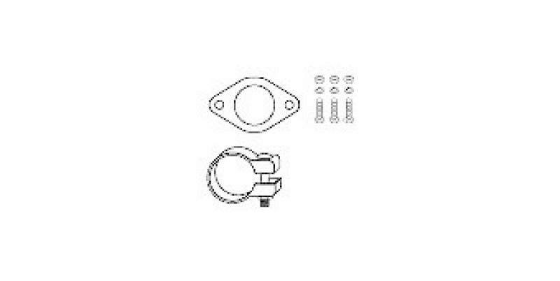HJS Montagesatz, Ruß-/Partikelfilter