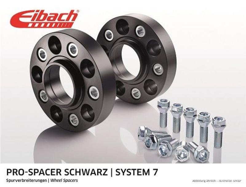 EIBACH Spurplatten Spurverbreiterung Distanzscheibe Ø57 5x112 50mm // 2x25mm